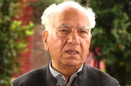 पूर्व मुख्यमंत्री शांता कुमार, कोरोनापॉजिटिव, टीएमसी में भर्ती