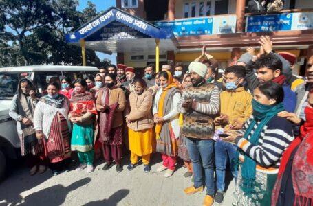बीडीसी में 18 में से 17 सदस्यों ने दिया भाजपा को समर्थन
