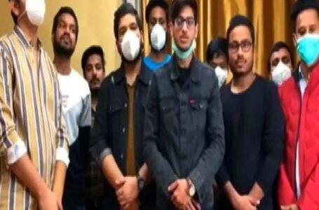 जूनियर ऑफिस असिस्टेंट परिक्षा न करवाए जाने पर संगड़ाह के छात्रो ने  जताया रोष