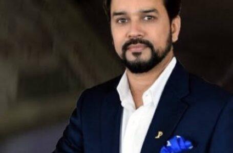 मोदी सरकार ने जल जीवन मिशन के अंतर्गत 4 करोड़ घरों तक पेयजल पहुँचाया:अनुराग ठाकुर