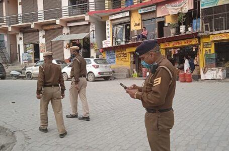 वाहन अधिनियम की अवहेलना के लिए संगड़ाह पुलिस द्वारा रविवार को कुल 19 चालान किए गए