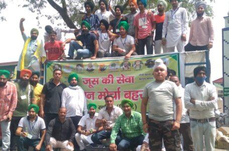महापंचायत में किसान नेता राकेश टिकैत का तीखा हमला,किसानों को अमीरों के हाथ नही बिकने देंगे
